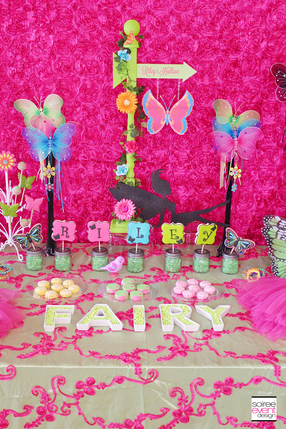 Fairy Garden Party - Dessert Table