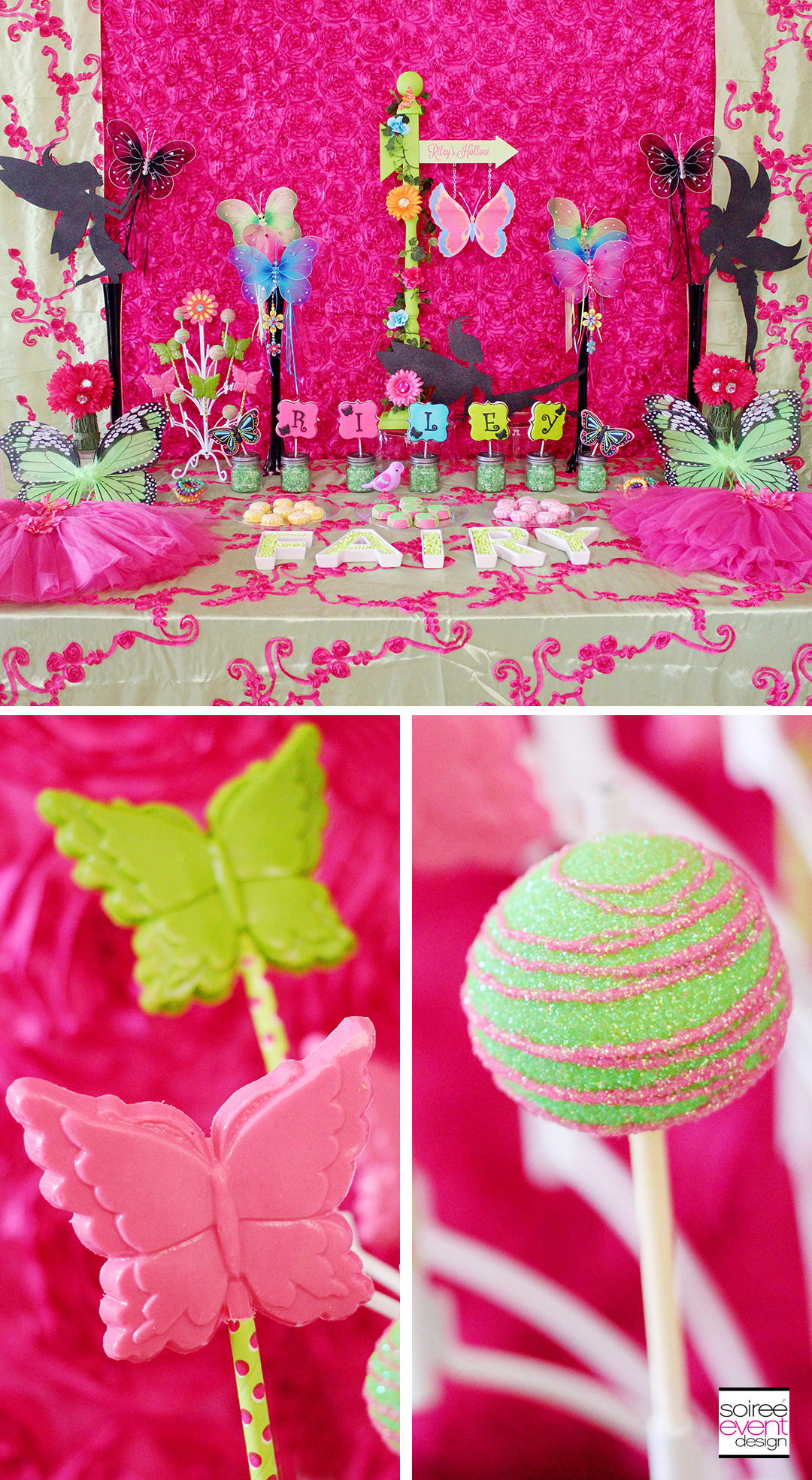 Fairy Garden Party - Dessert Table - Cake Pops