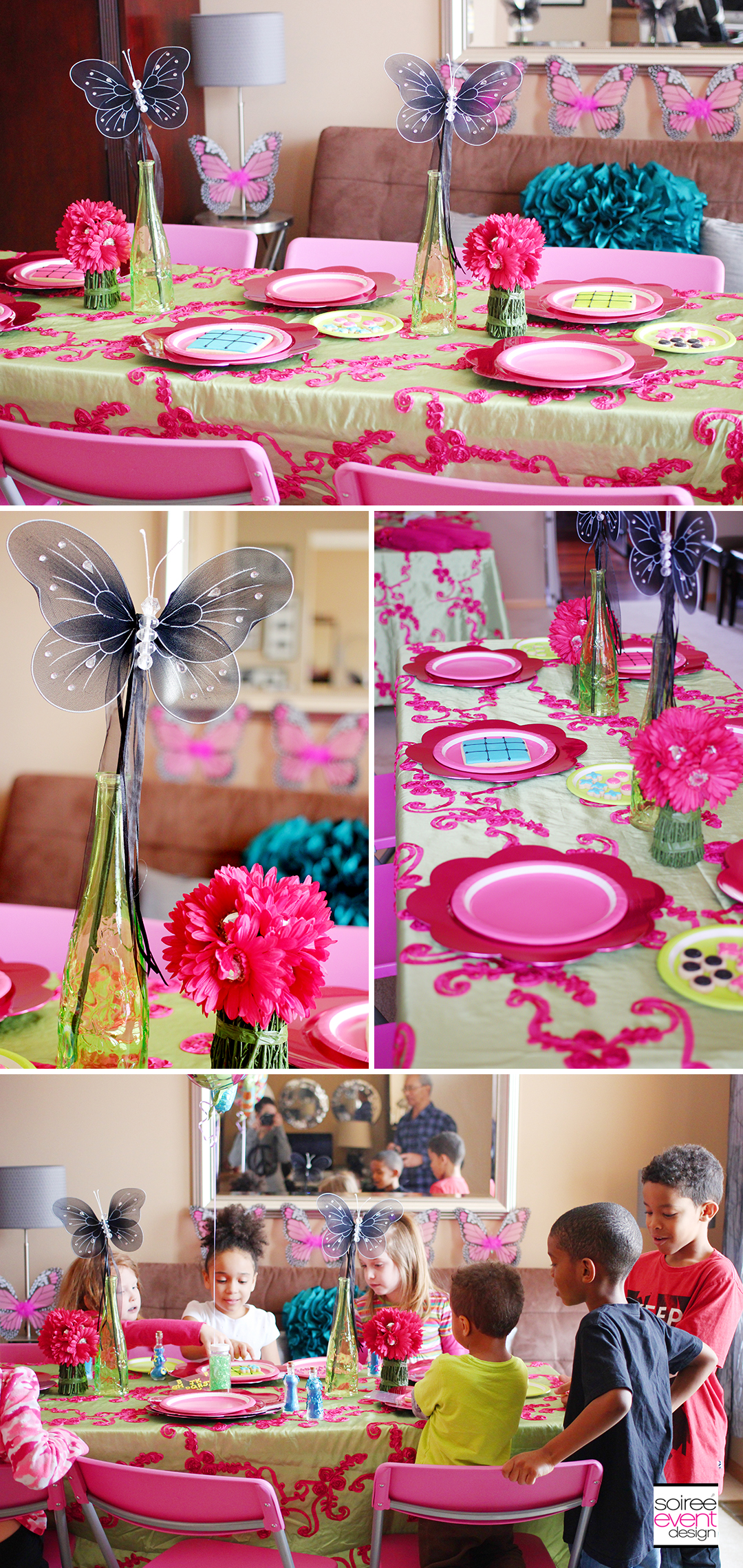 Fairy Garden Party Dining Table
