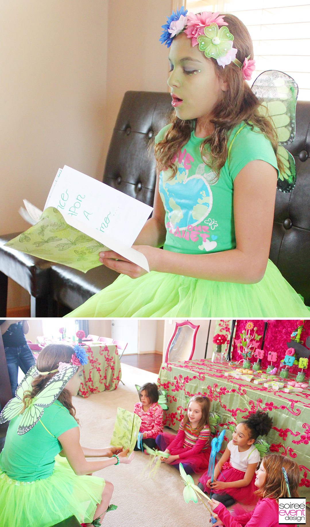 Fairy Party Activity - Fairy Story Time