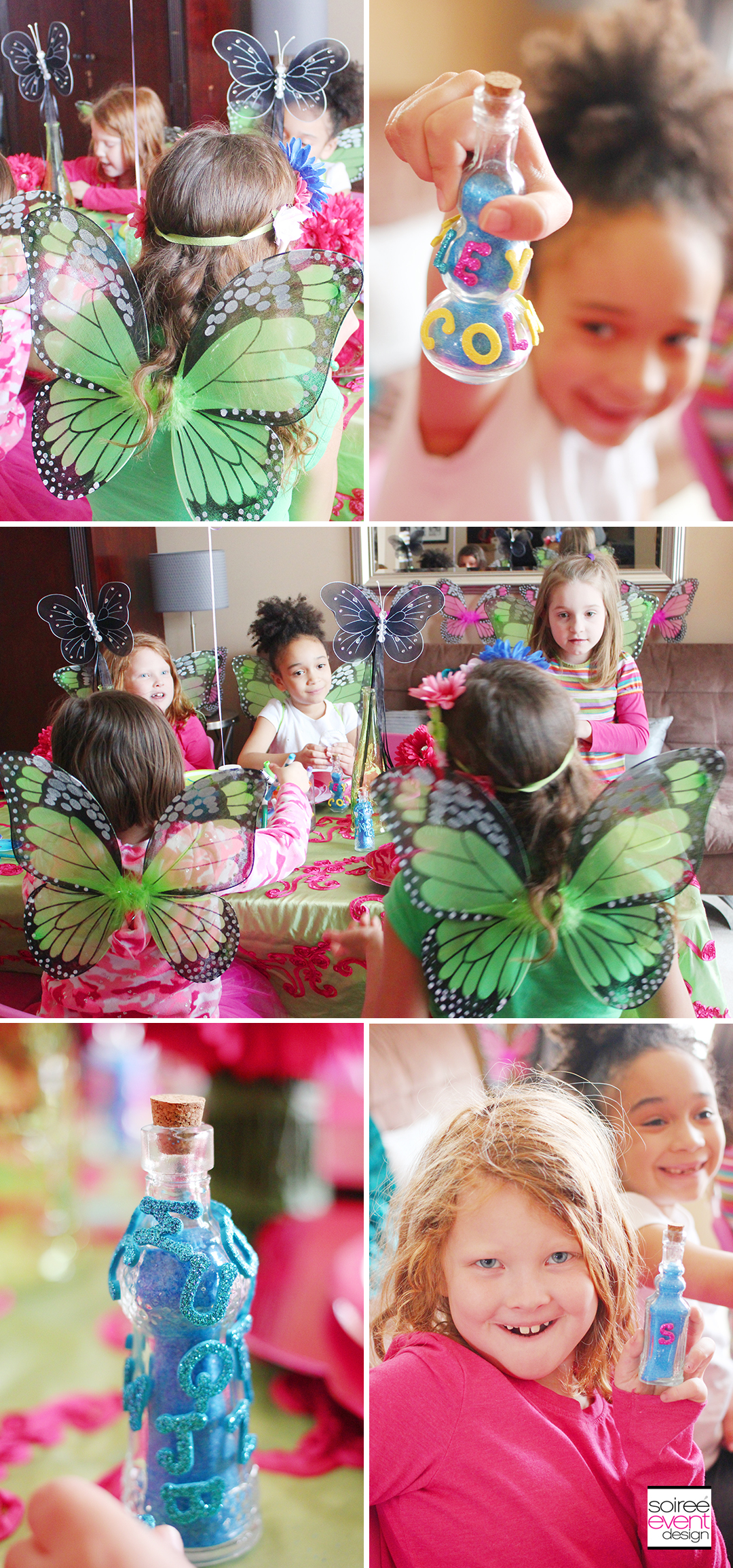 Fairy Party Crafts - Pixie Dust Bottles