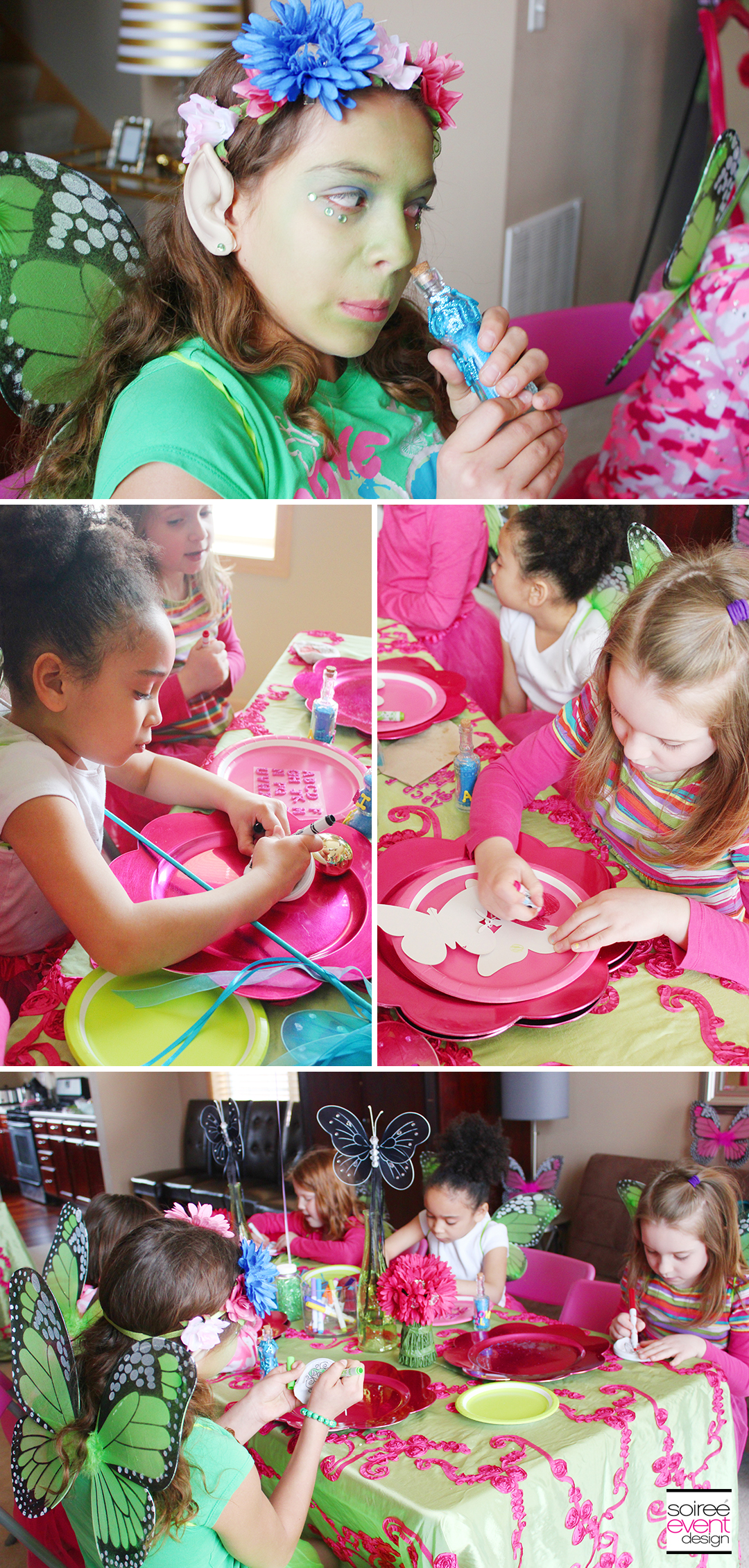 Fairy Party Crafts - Wish Purses