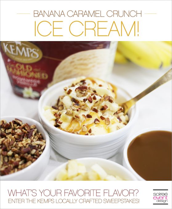 Create Your Own Kemps Ice Cream Flavor!