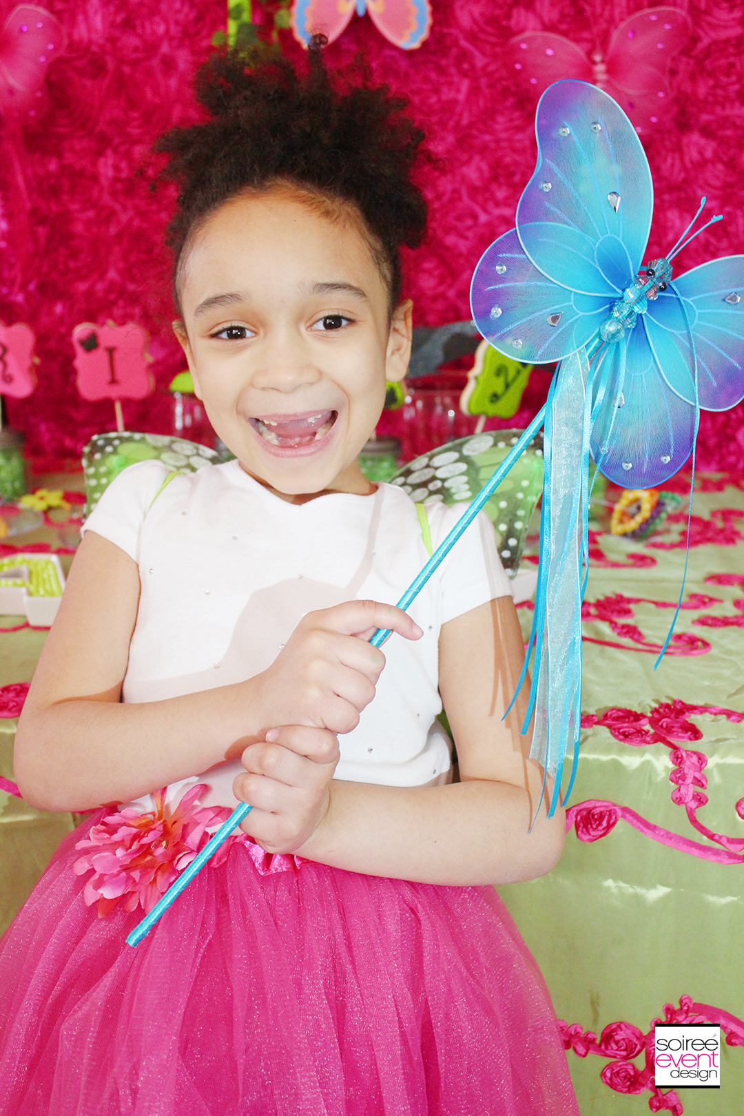 Riley 7th Fairy Garden Birthday Party