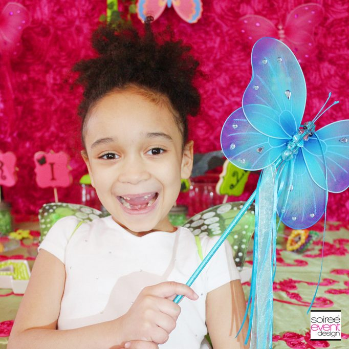 Riley's Fairy Garden Birthday Party