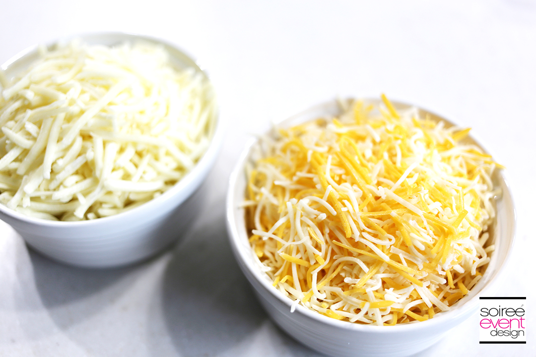 Southwest Baked Spaghetti - Cheese