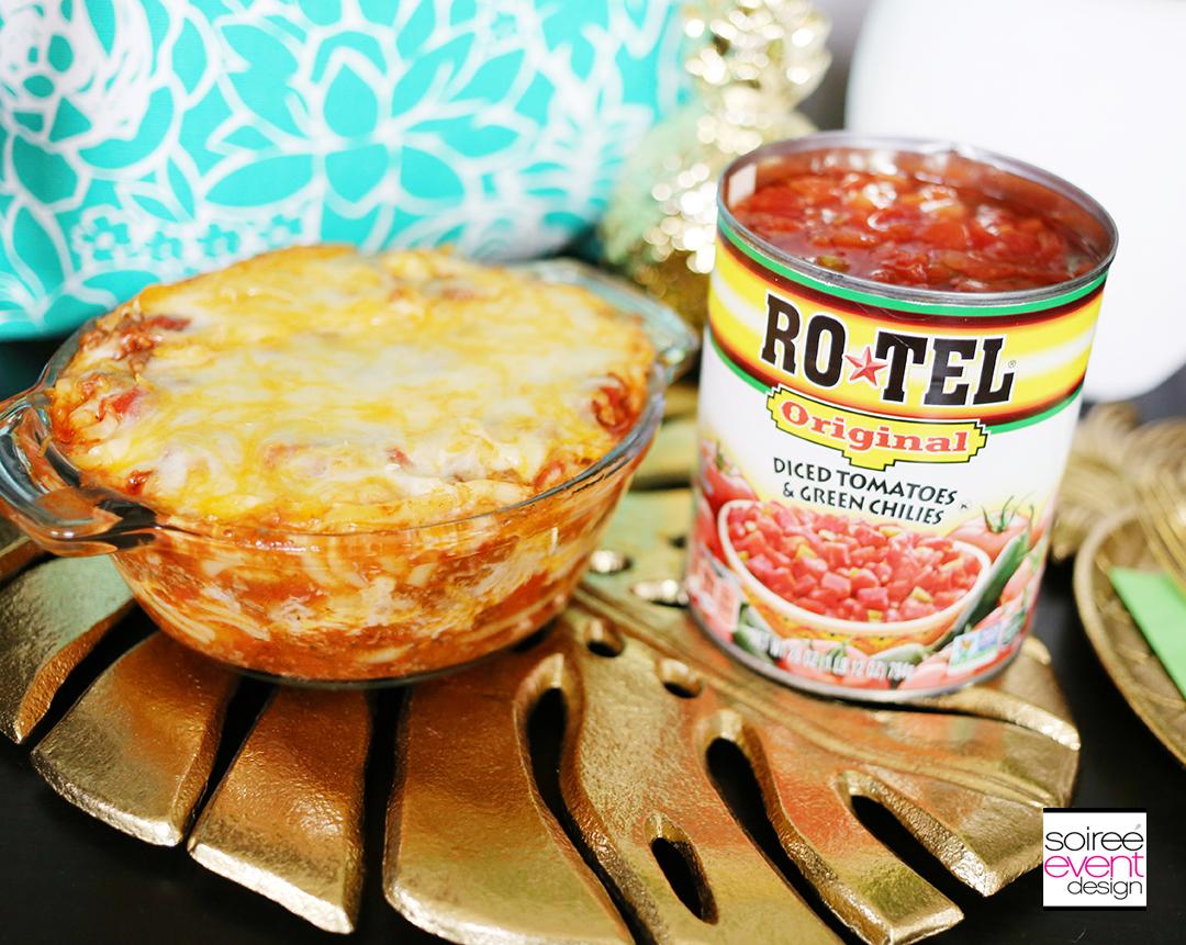 Southwest Baked Spaghetti Recipe - RO*TEL Tomatoes