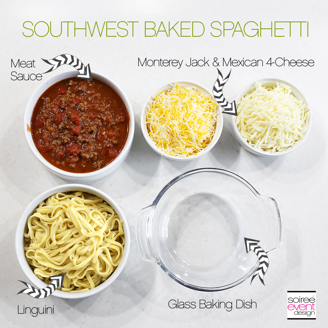 Southwest Baked Spaghetti Recipe