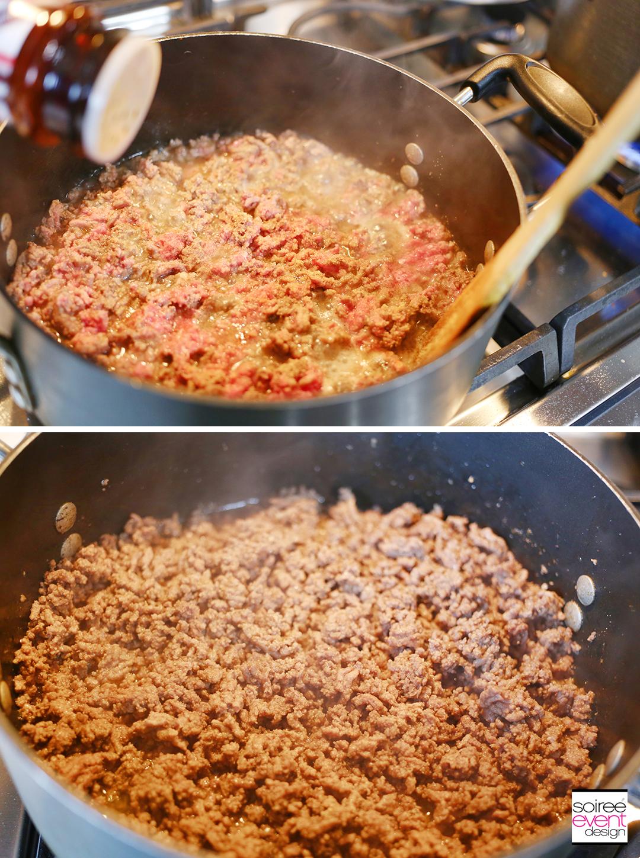 Southwest Baked Spaghetti - Step 1