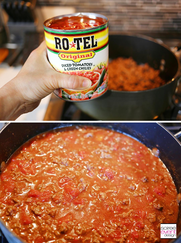 Southwest Baked Spaghetti - Step 2