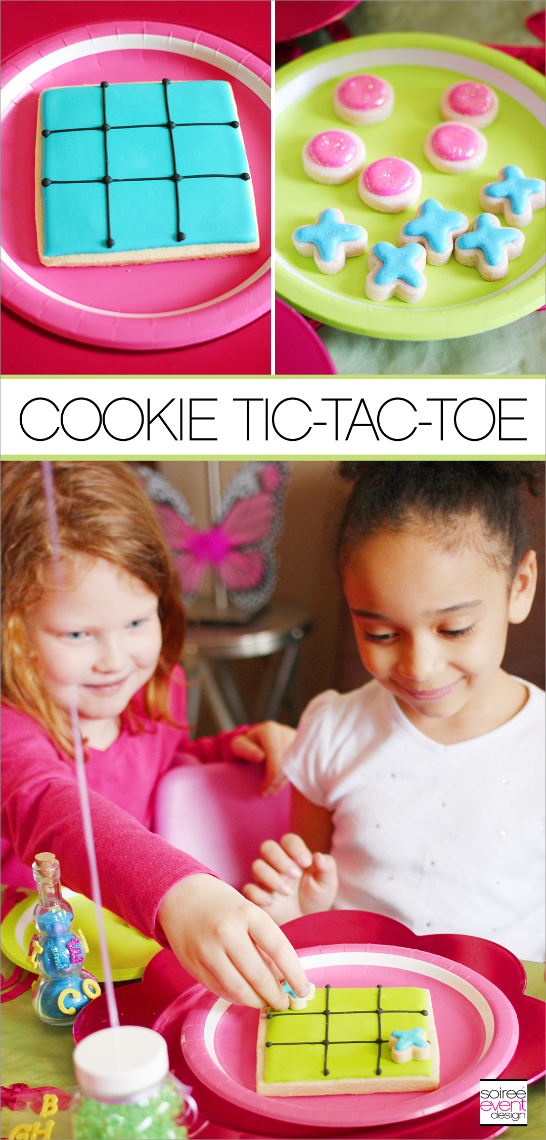 TIC-TAC-TOE COOKIES