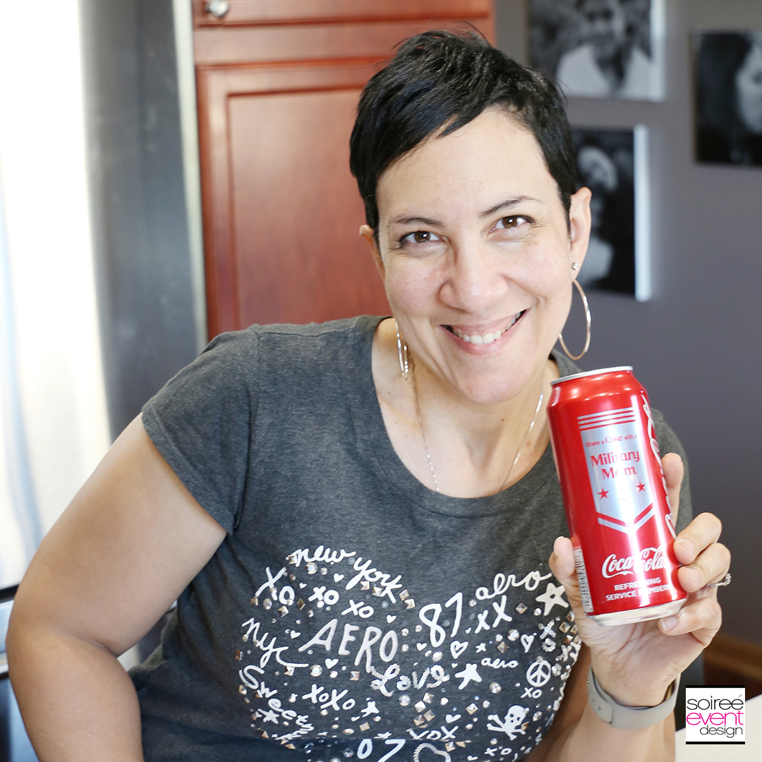 Coca-Cola MIlitary Mom Cans at Dollar General