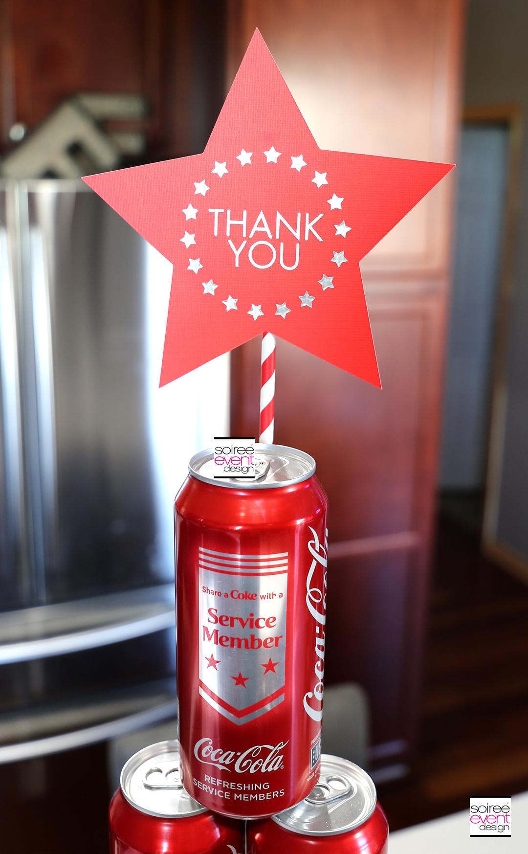 DIY Thank You Star Topper