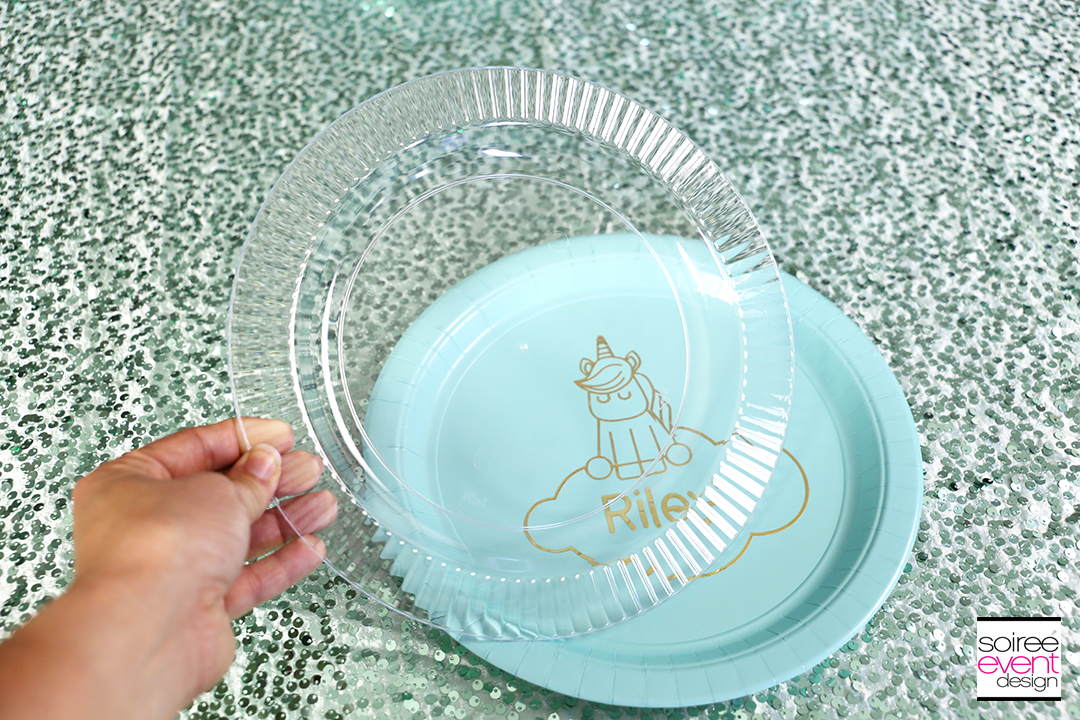 Make Personalized Party Plates with Cricut - Step 11