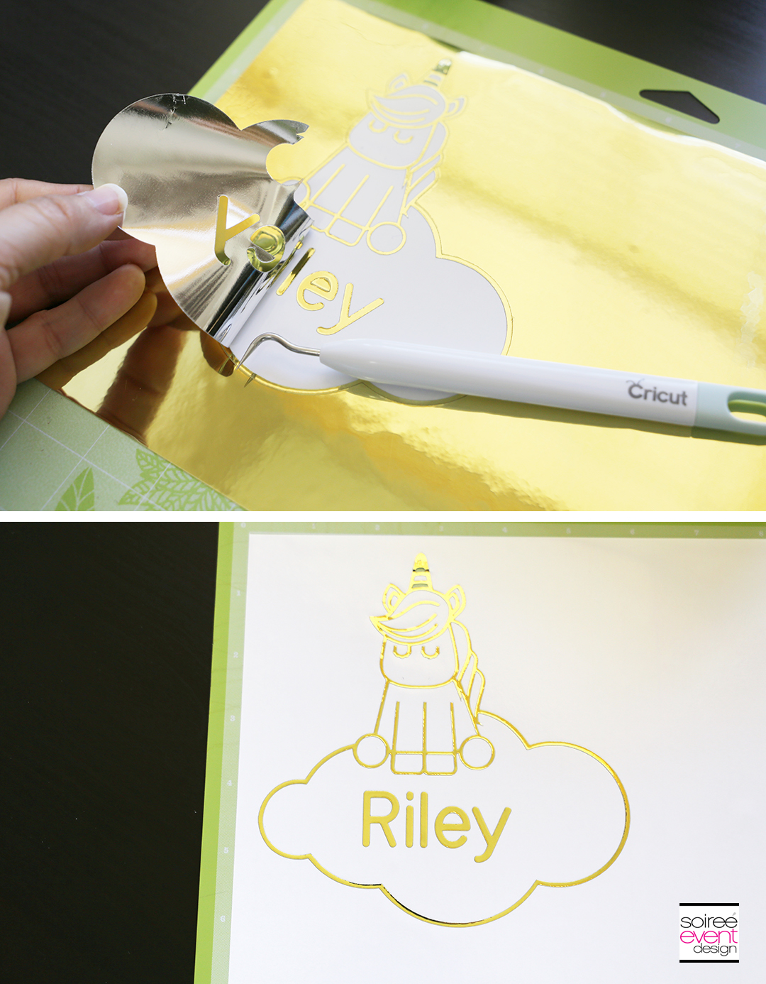 Make Personalized Party Plates with Cricut - Step 8