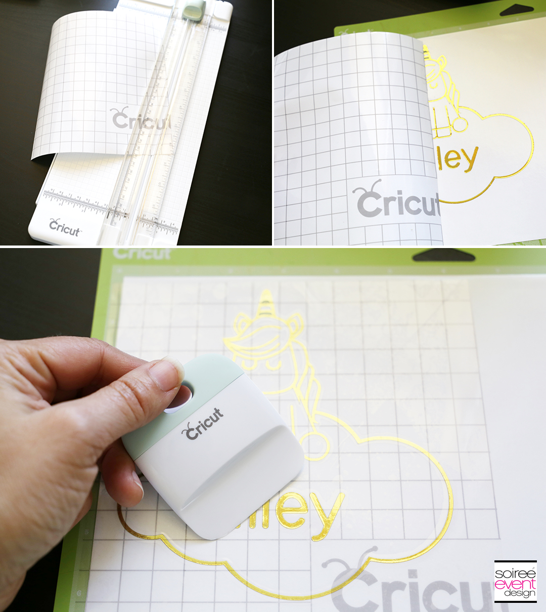 Make Personalized Party Plates with Cricut - Step 9