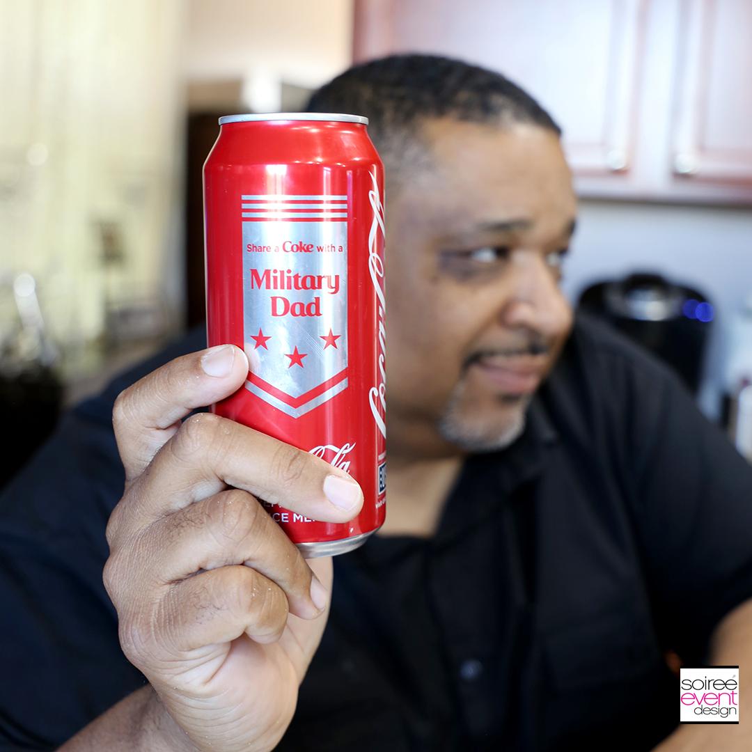 Military Dad Coca-Cola Can