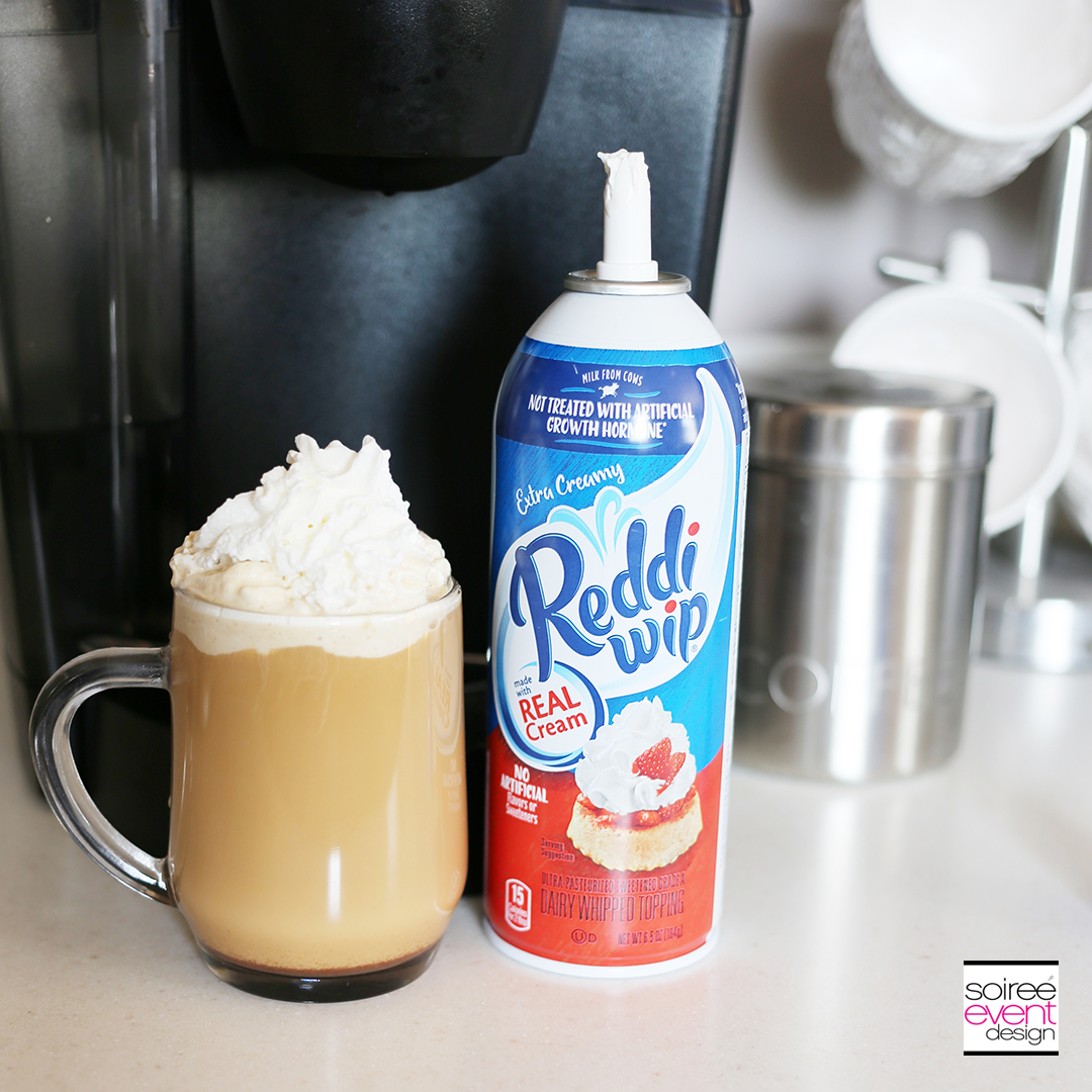 Reddi-Wip and Coffee