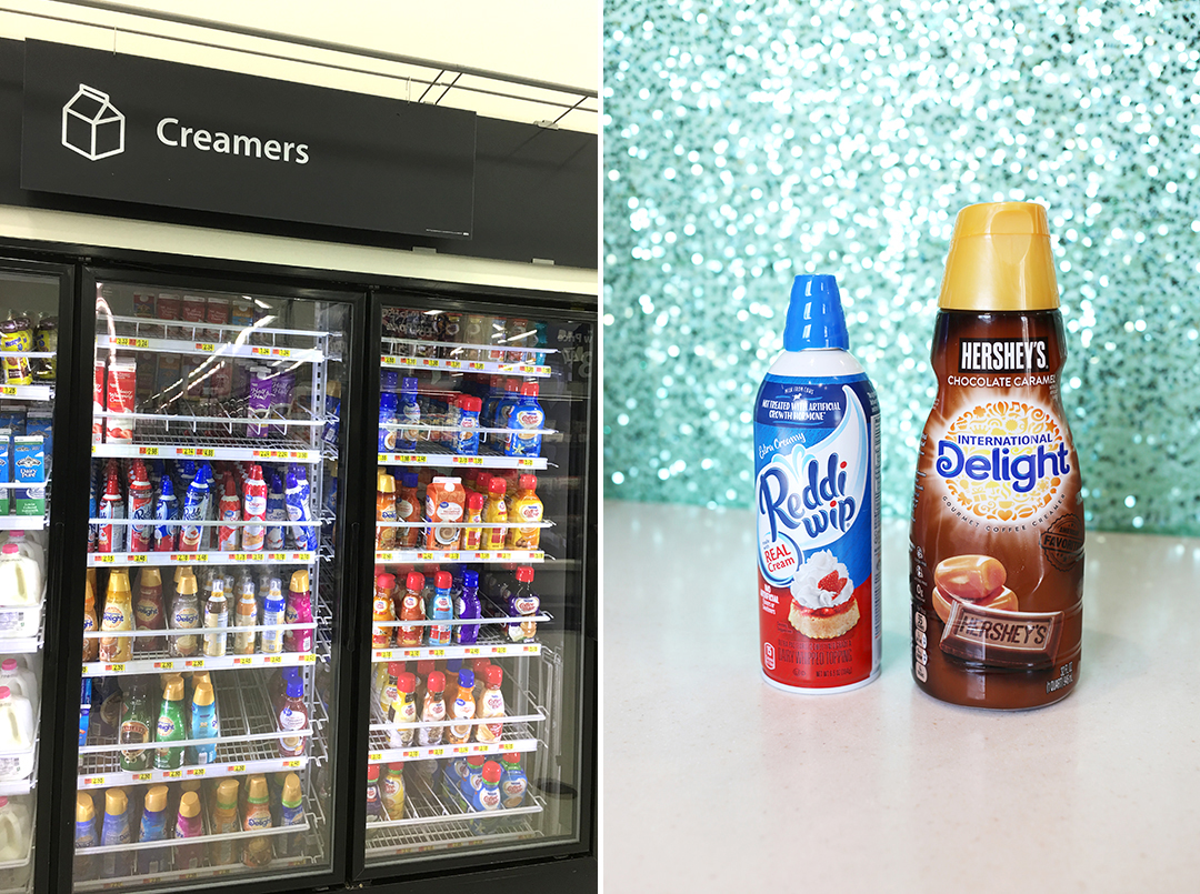 Walmart In store - Dairy Section