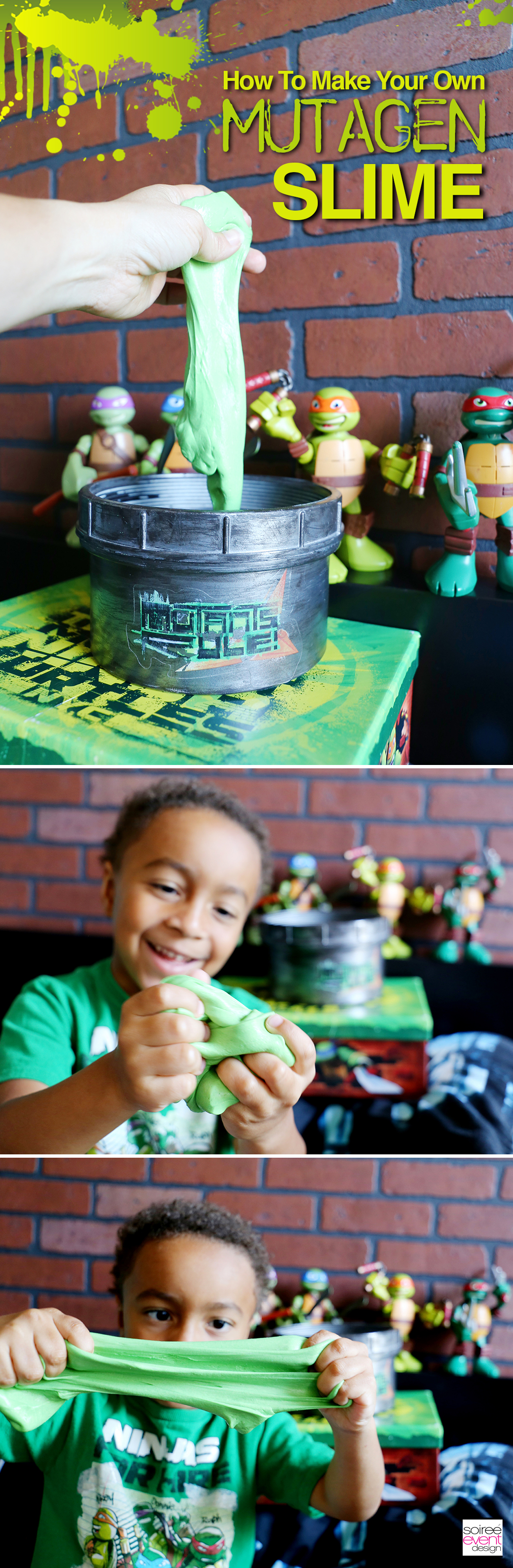 DIY Ninja Turtles Mutagen Slime