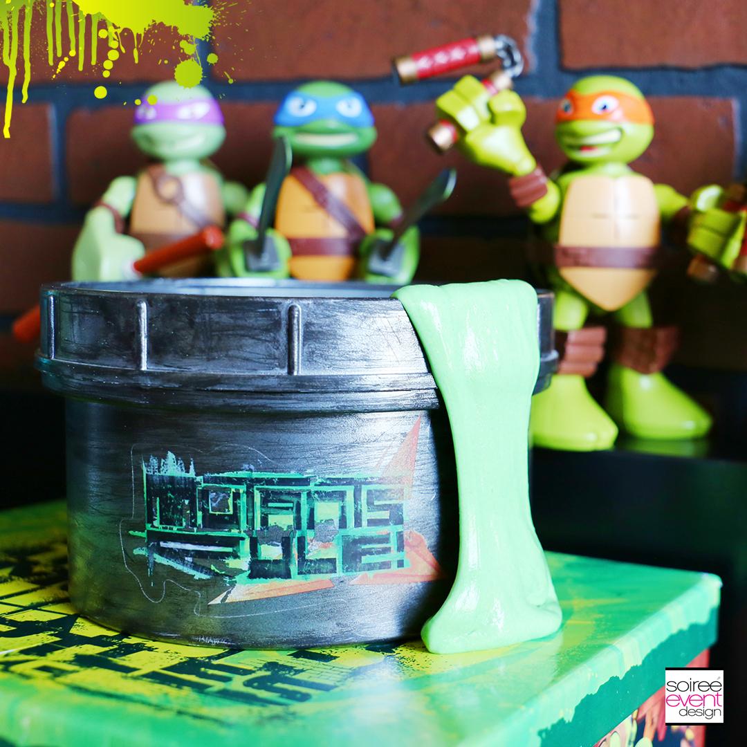 ninja turtles party ideas make ninja turtles mutagen slime