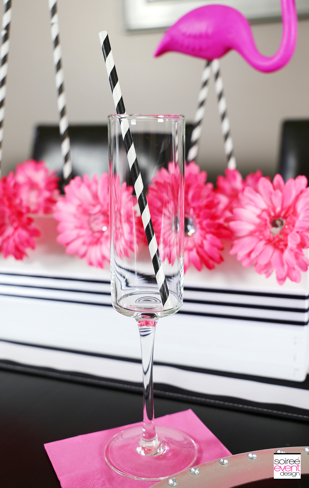 Flamingo Party Tablescape 4
