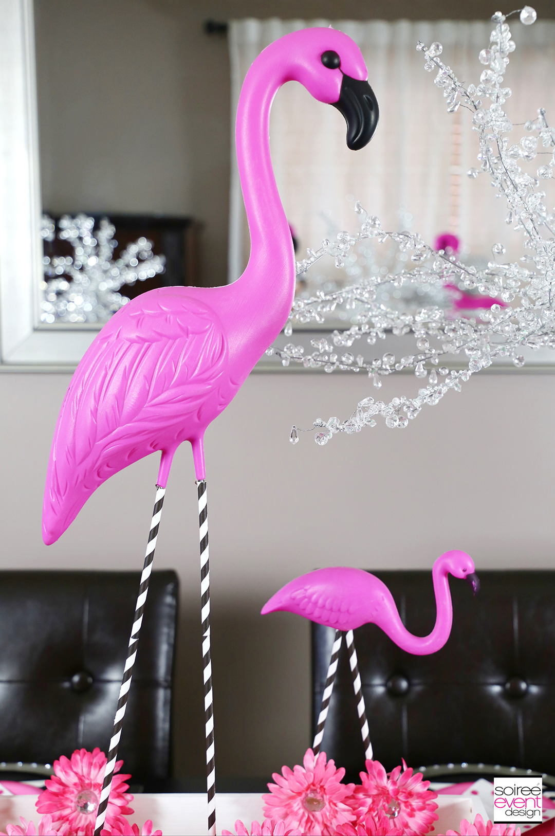 Flamingo Party Tablescape
