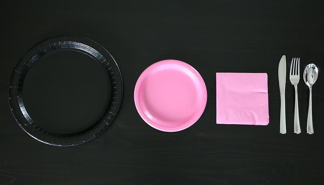 Flamingo Party Tablescape