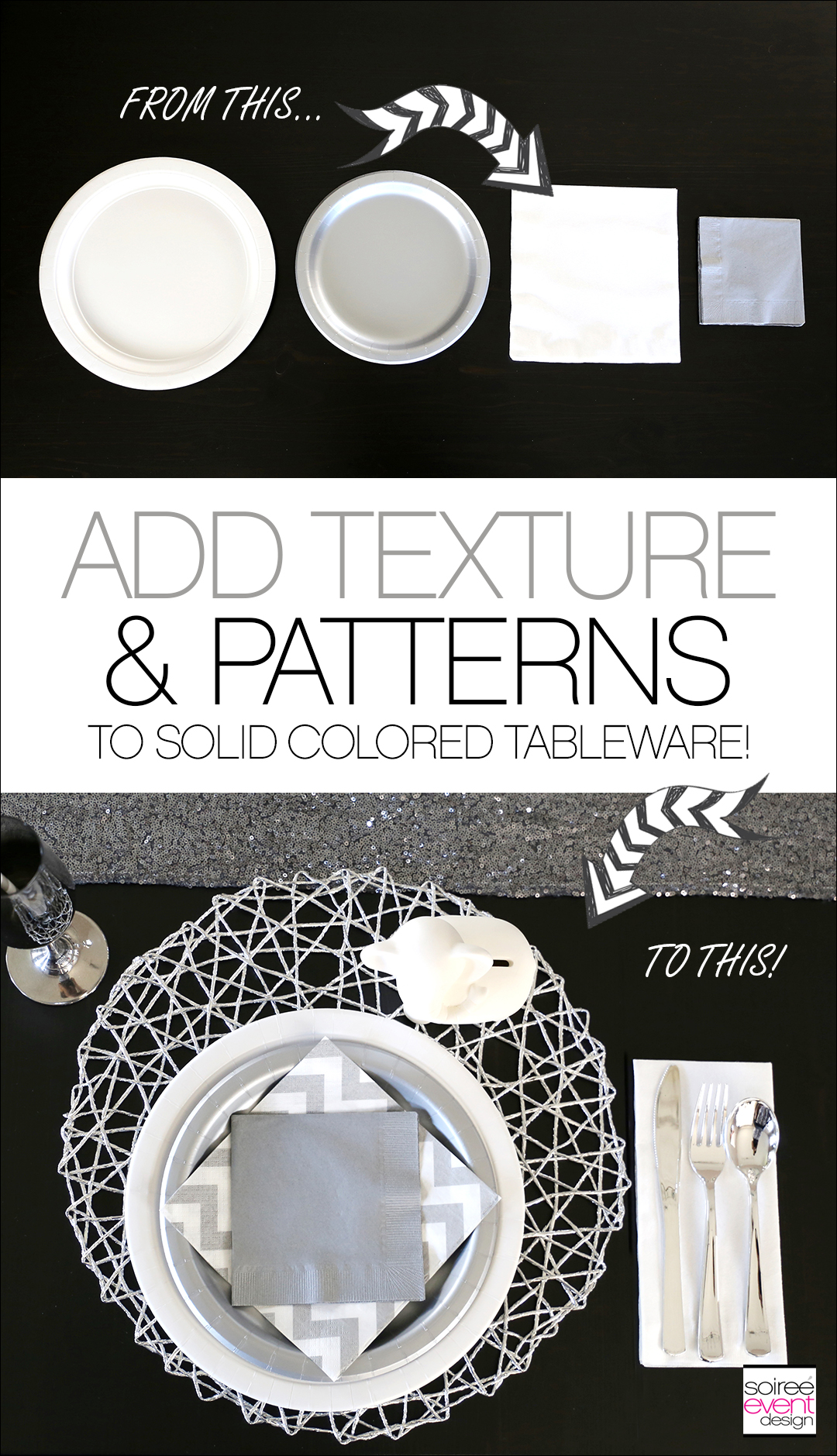 Modern Safari Party Tablescape 2