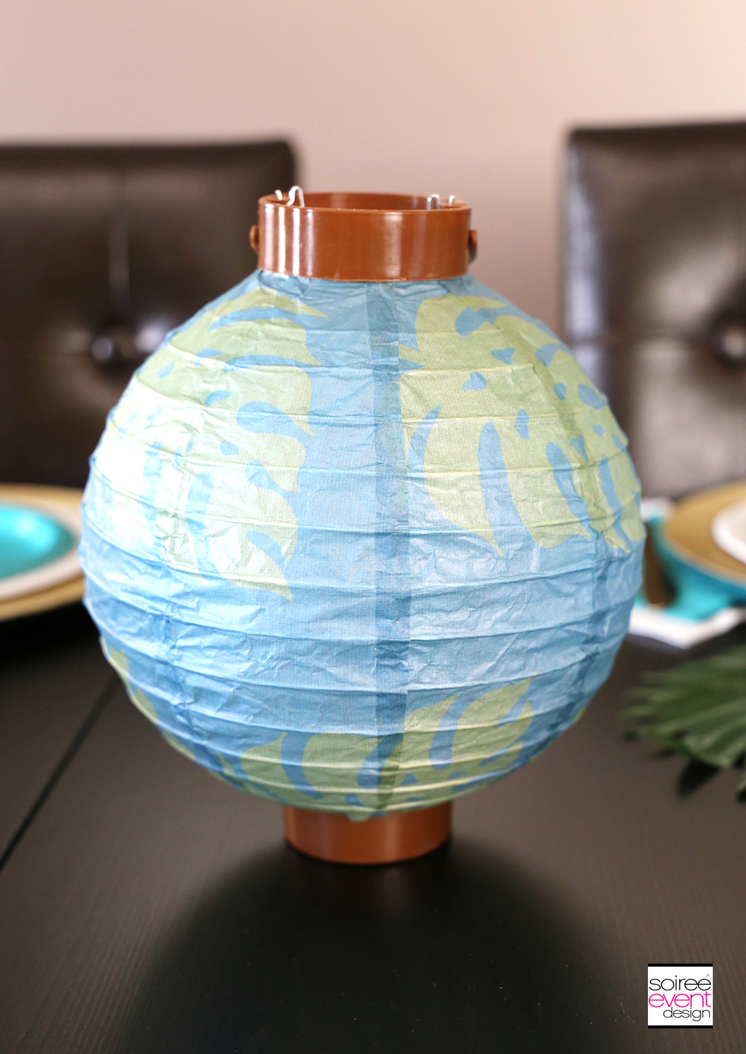 Tropical Party Ideas - Tropical Party Lanterns