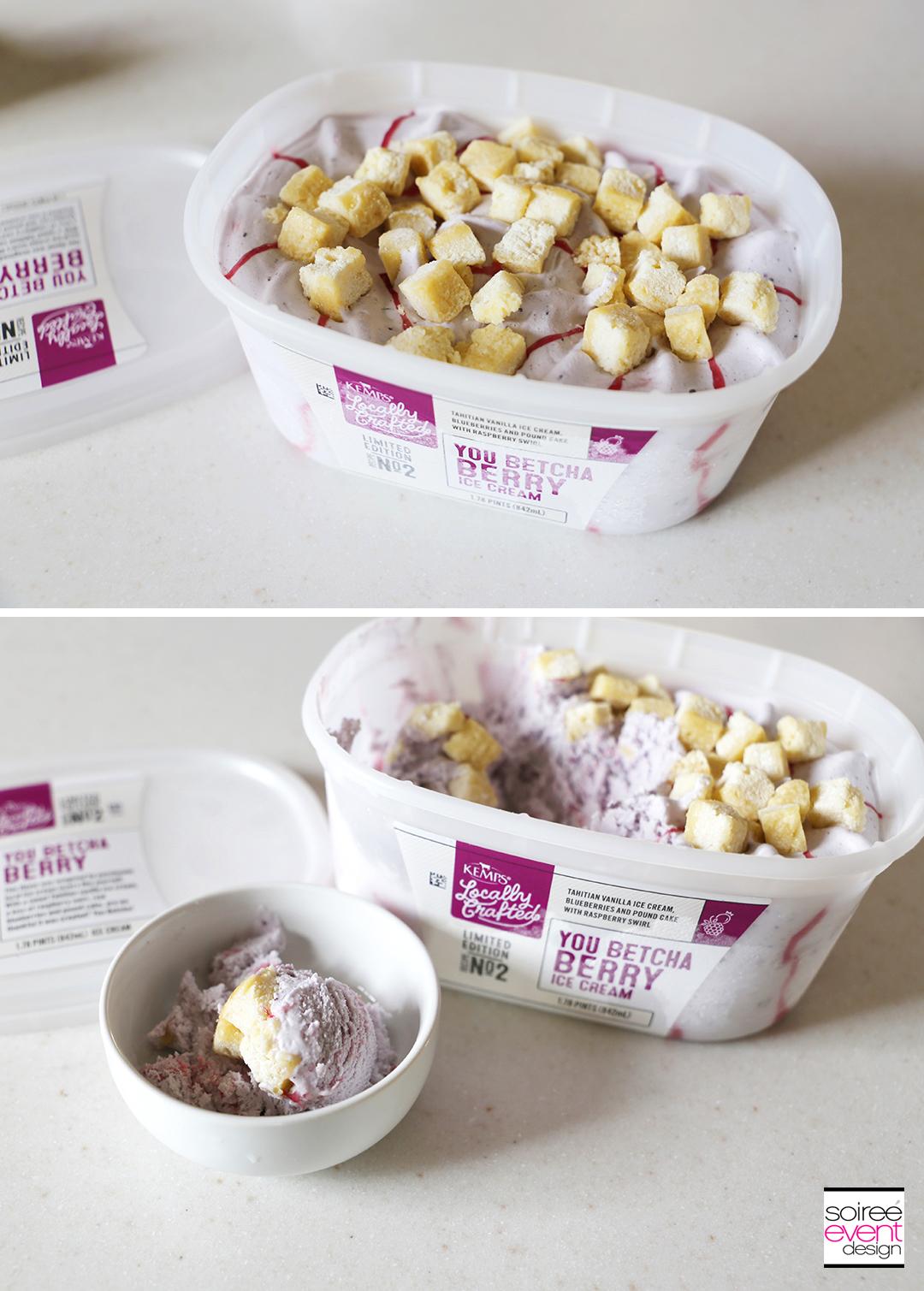 Kemps Ice Cream Tasting