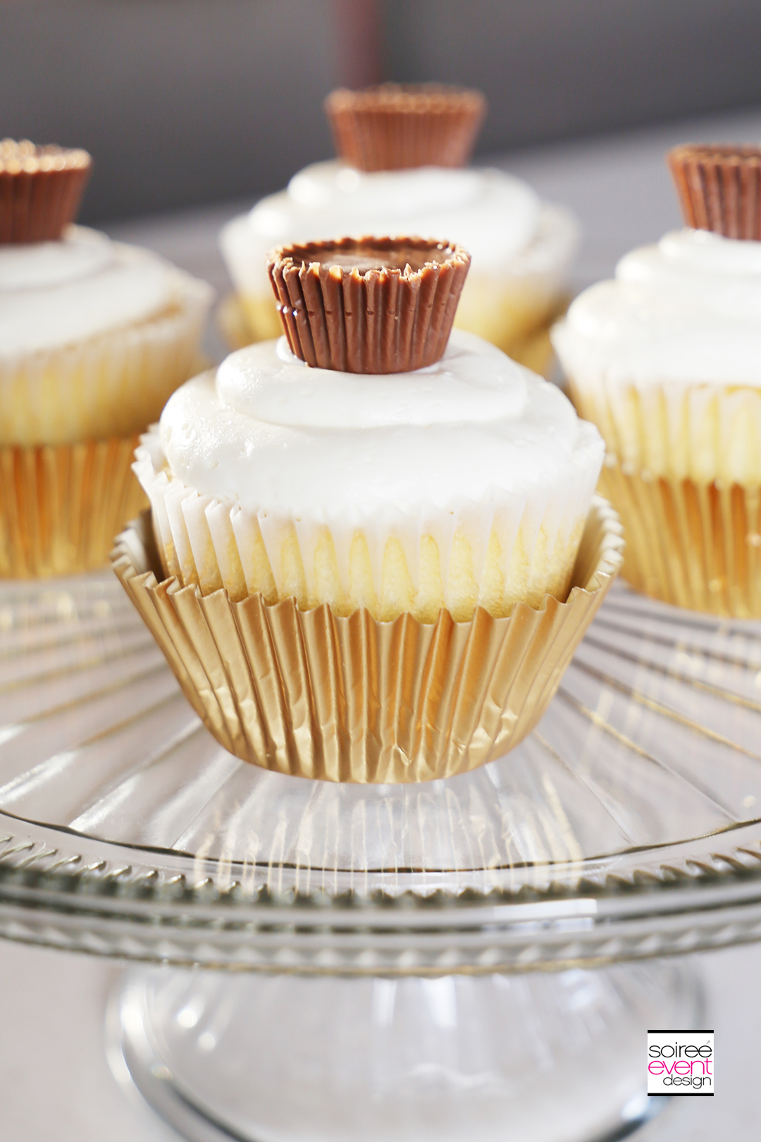 REESE'S Peanut Butter Cup Cupcakes - Step 11