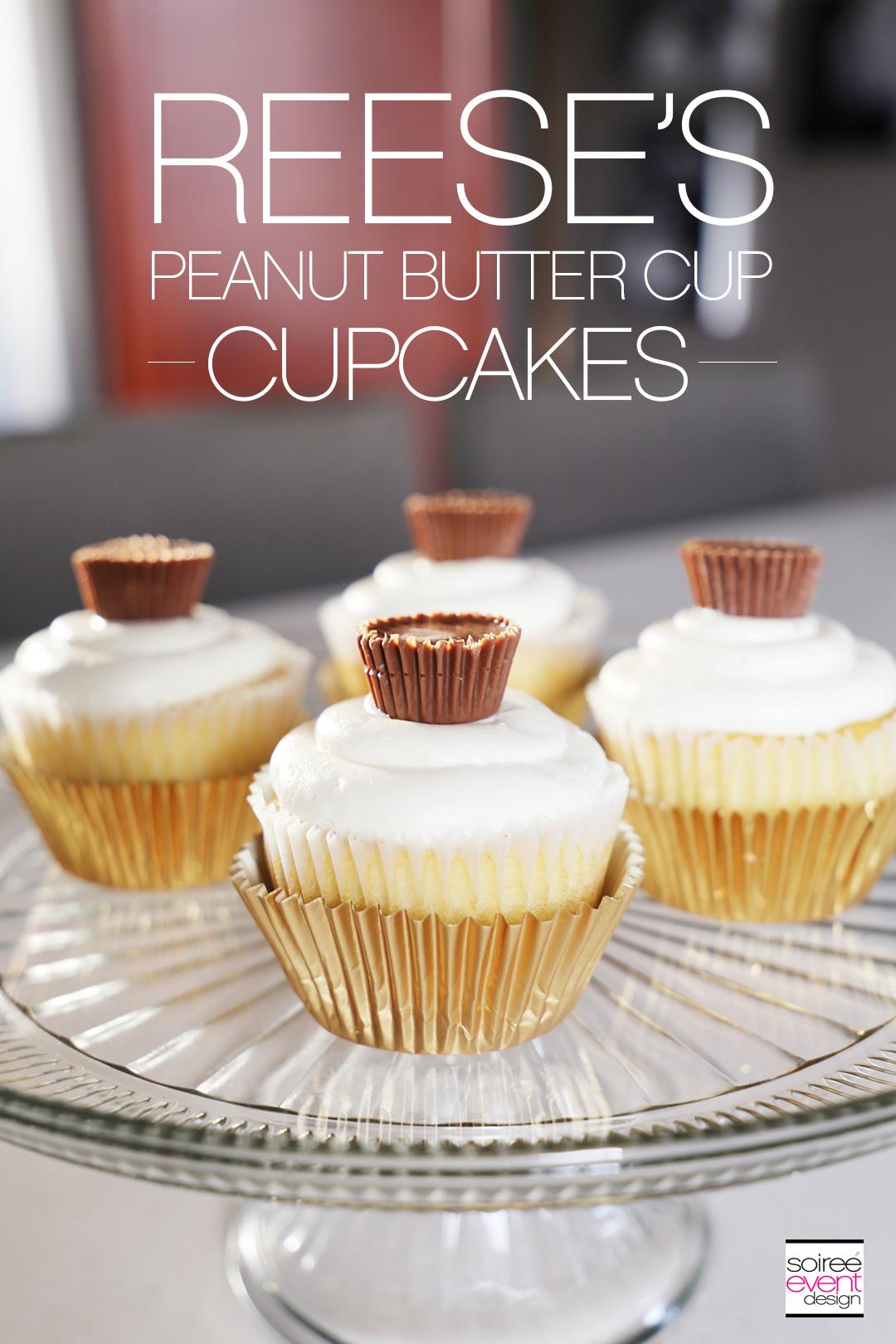 'S Peanut Butter Cup Cupcakes - Recipe