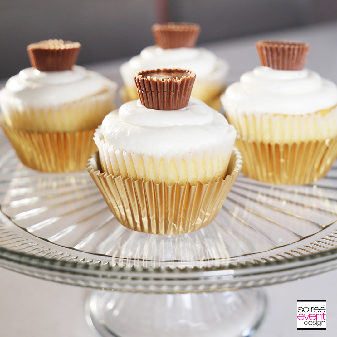 REESE'S Peanut Butter Cup Cupcakes and Coffee! - Soiree ...
