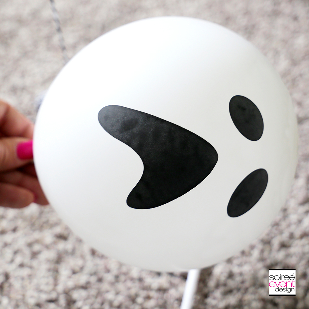 DIY Ghost Balloon Floaters - Step 3