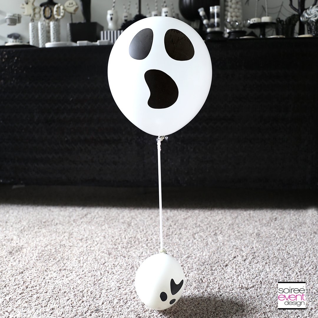 DIY Ghost Balloon Floaters - Step 4