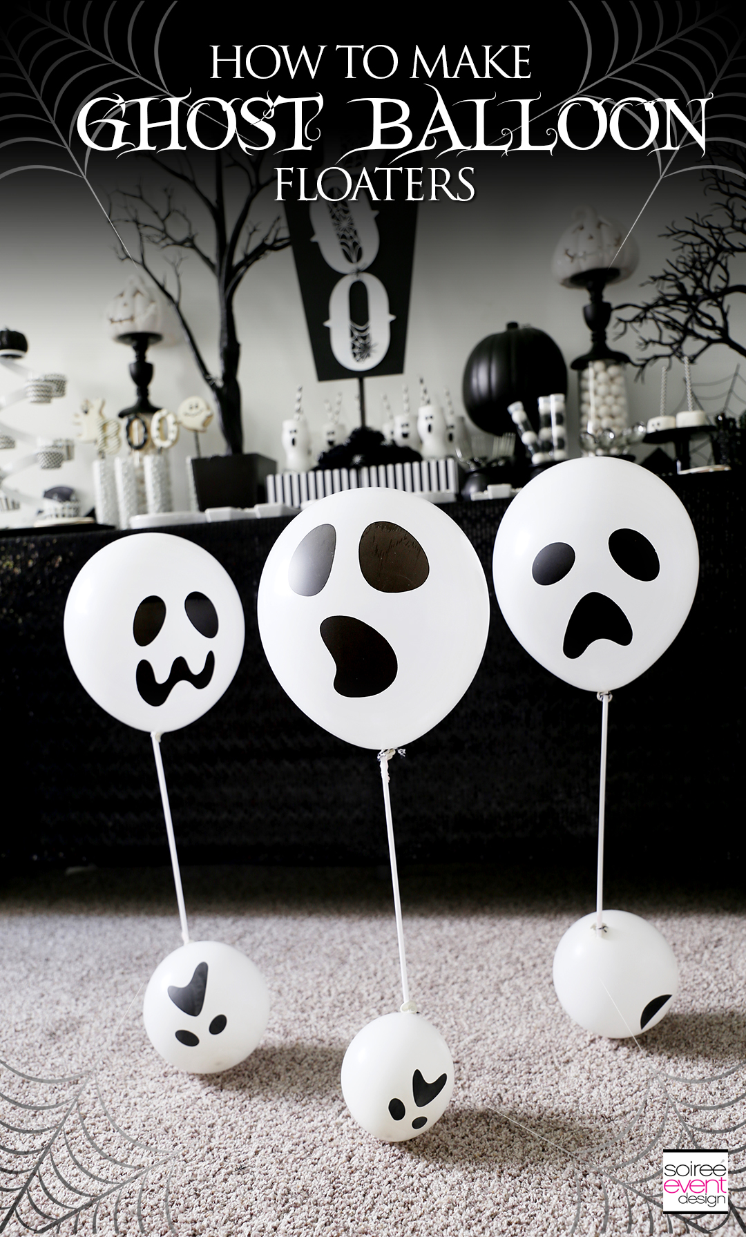 DIY Ghost Balloon Floaters