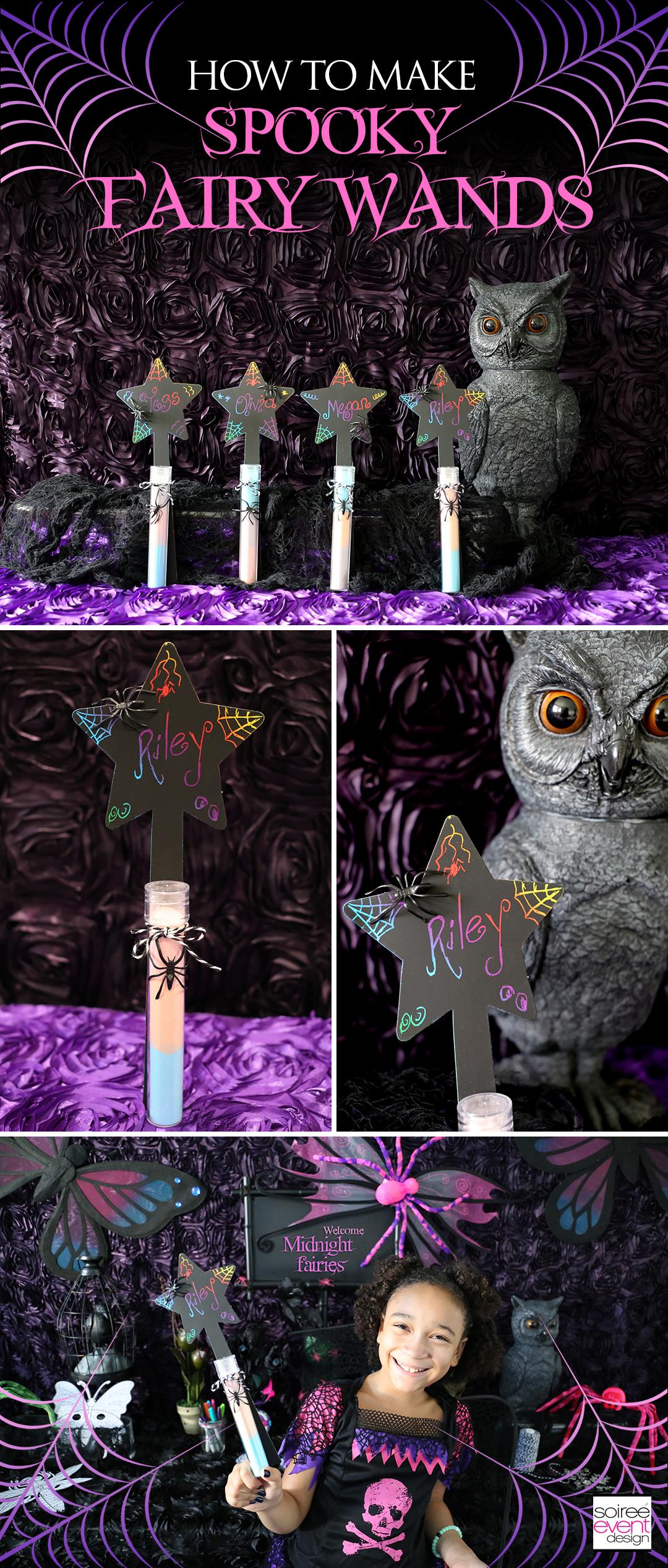 DIY Spooky Fairy Wands
