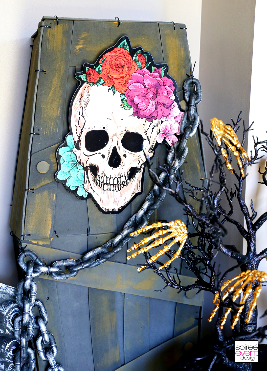 Day of the Dead Entryway - Coffin