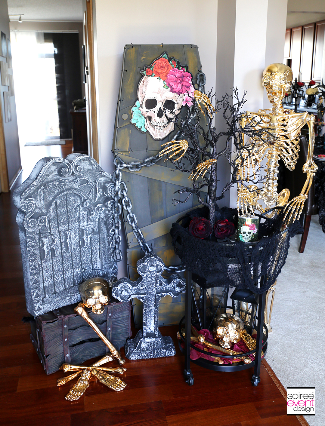 Day of the Dead Entryway Decorations