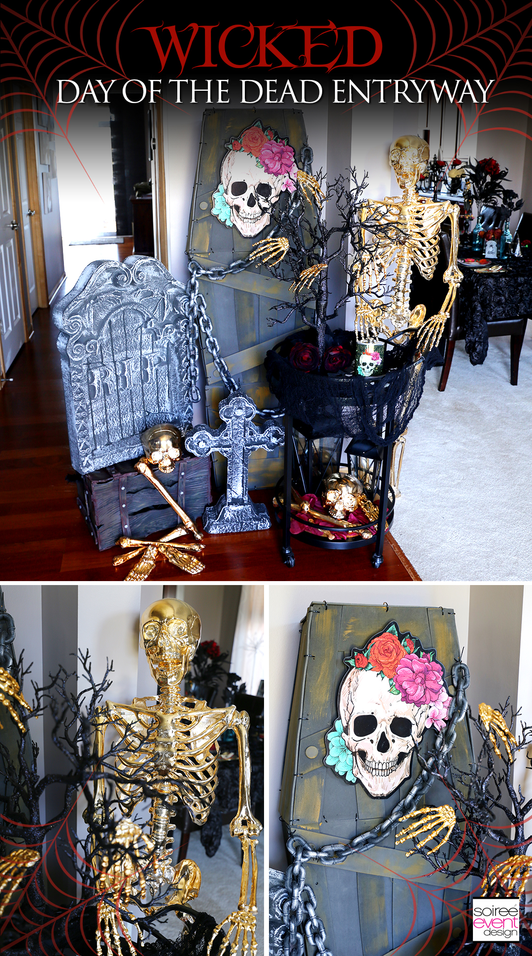 Day of the Dead Entryway - Soiree Event Design