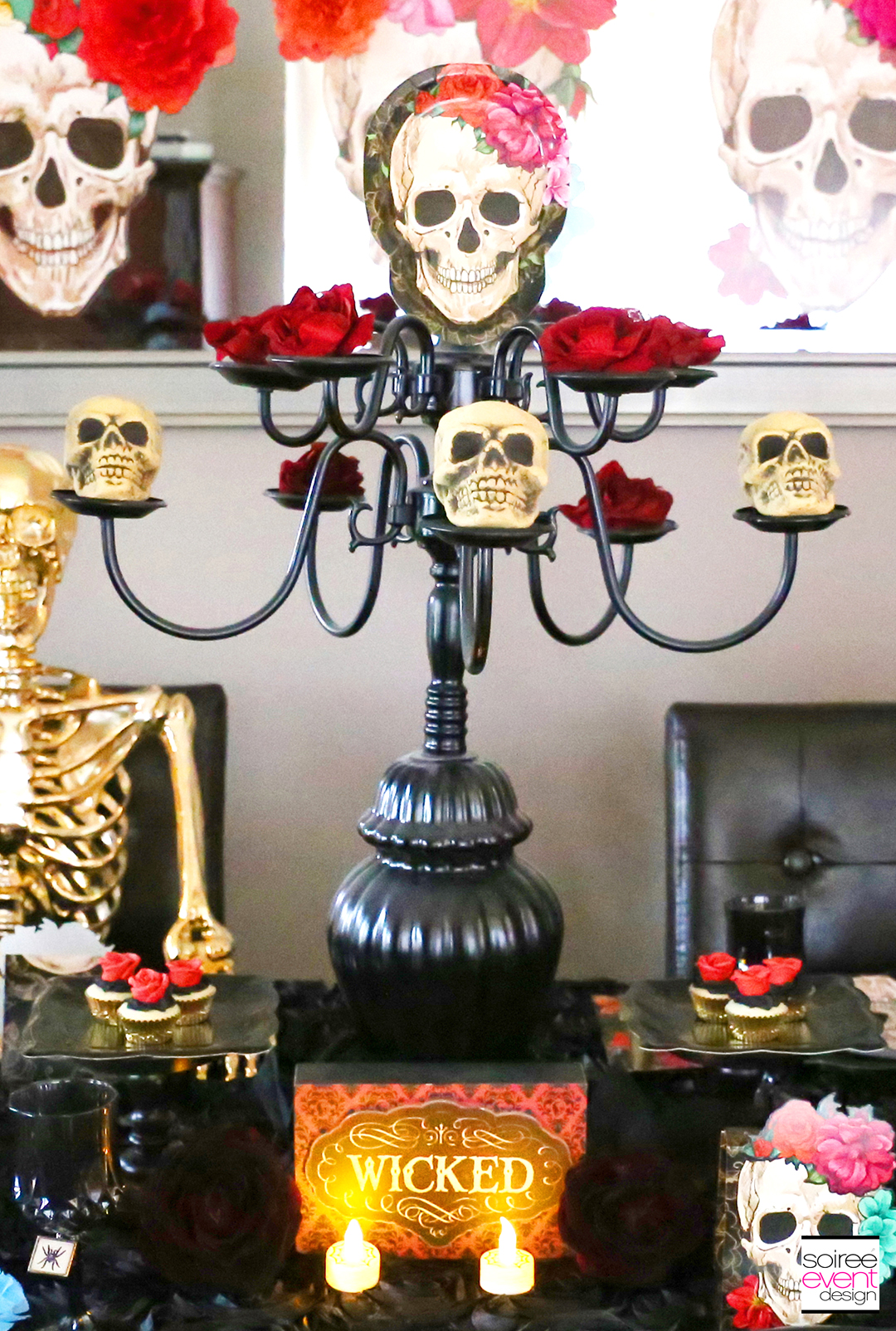 Day of the Dead Party Ideas - Centerpiece