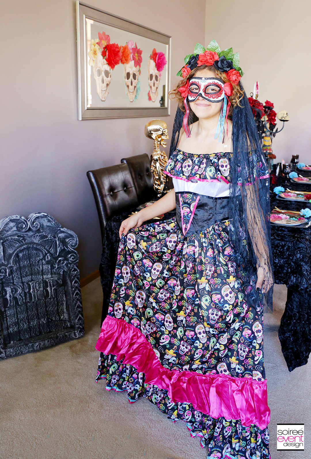 Day of the Dead Party Ideas - Day of the Dead Costume