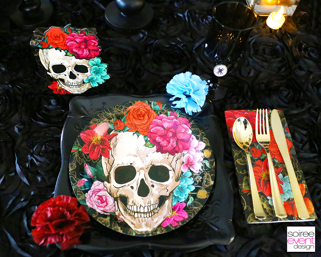 Day of the Dead Party Ideas - Spooky Floral Party Supplies