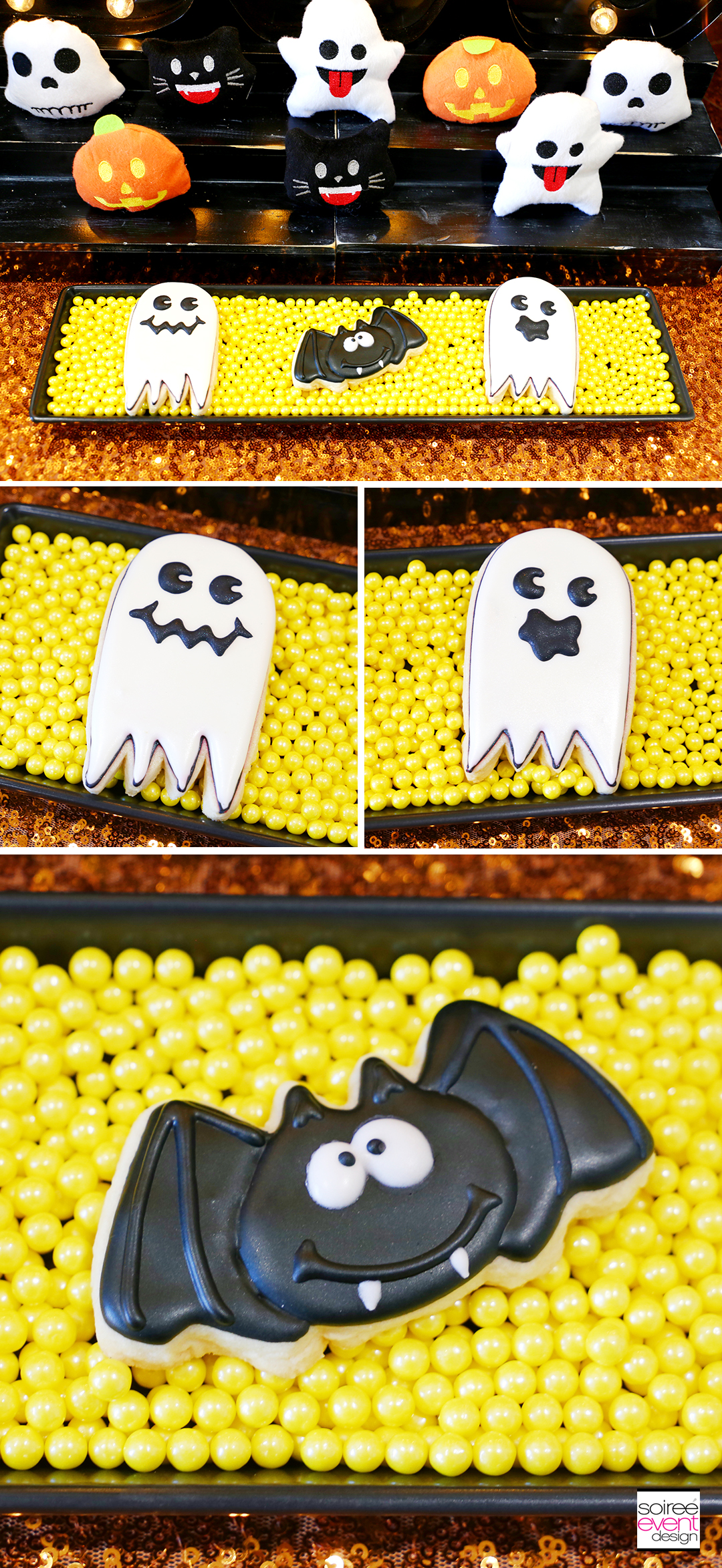 Emoji Halloween Party Ideas - Emoji Halloween Cookies