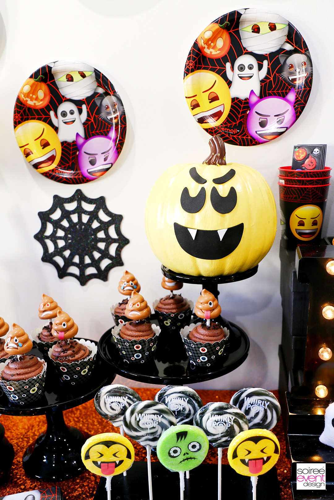 Emoji Halloween Party Ideas - Emoji Halloween decorations
