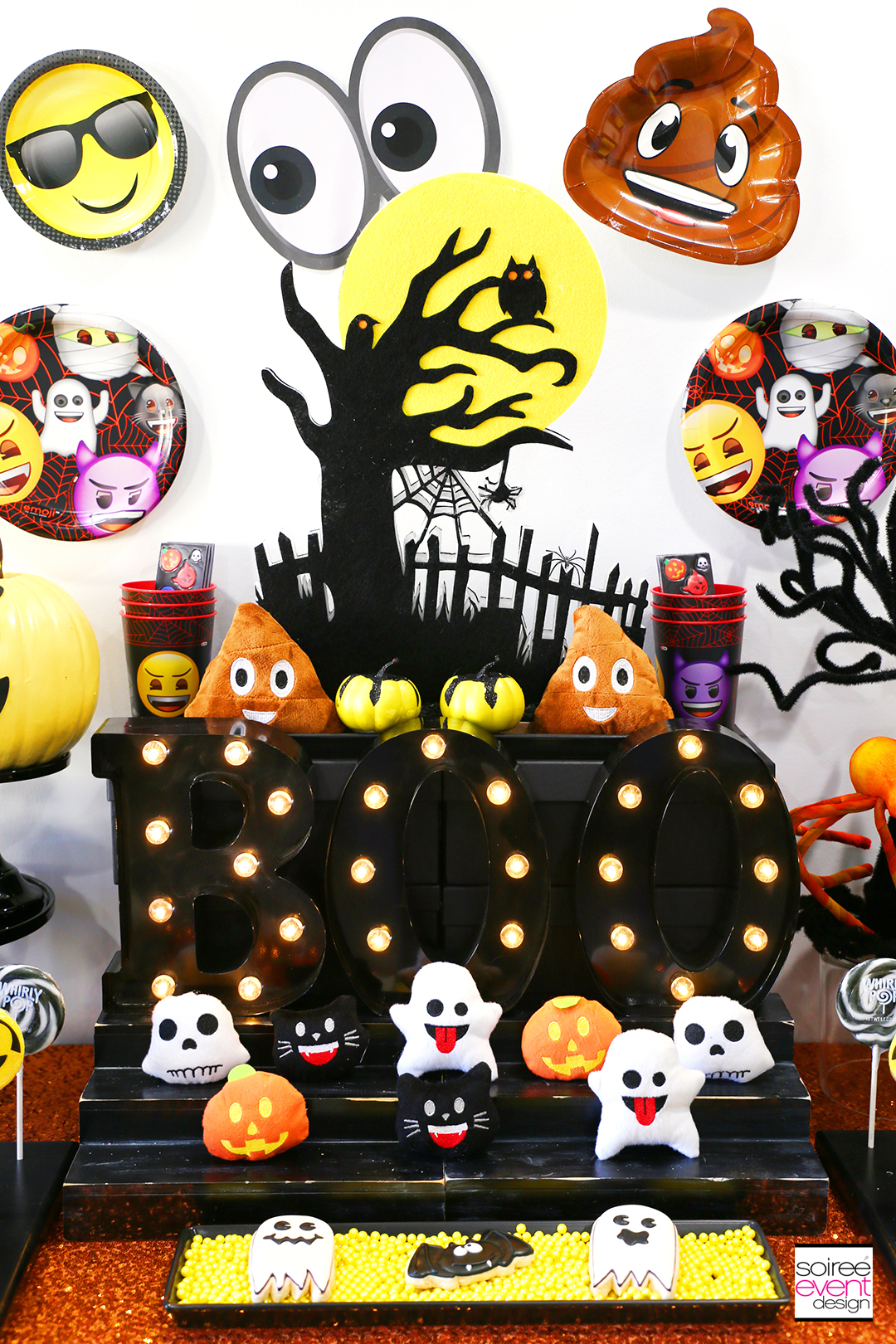 Emoji Halloween Party Ideas - Emoji Party Decorations