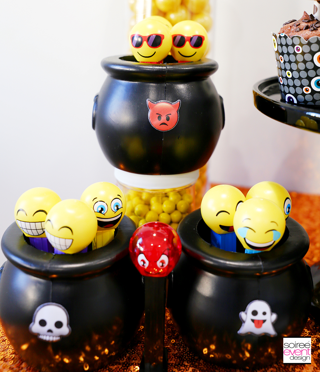 Emoji Halloween Party Ideas - Emoji Pez Candy