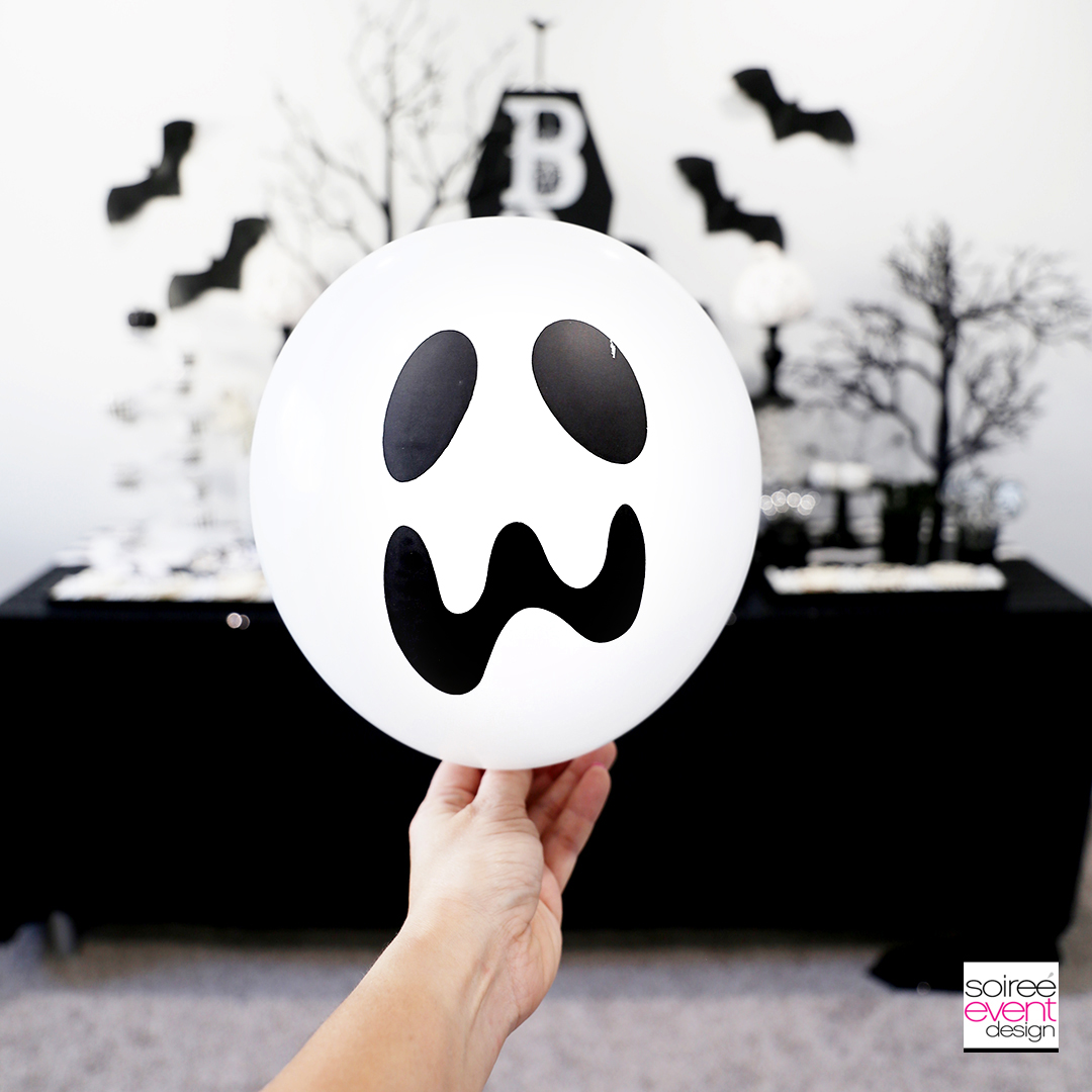 Ghost Halloween Party Games - Ghost Latex Balloons