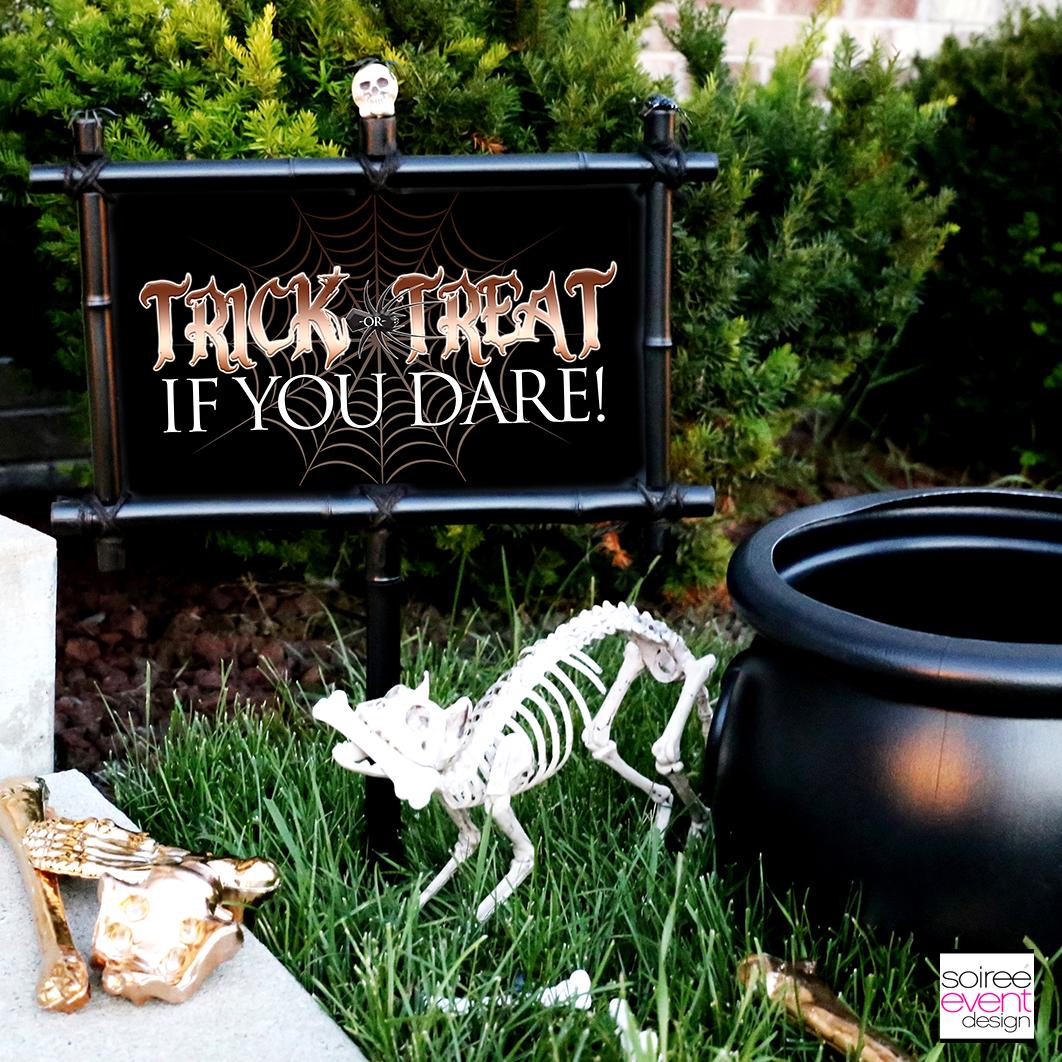 Halloween printable signs